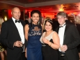 656456-06 : ©Lionel Heap : 2016 A Question of Brains Charity Evening in Aid of Steps : L-R David Shaw, Hannah Ingram, Ragini and James Anderson.